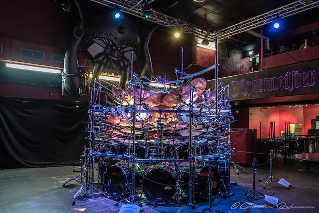 Das wahrscheinlich größte Schlagzeug der Welt