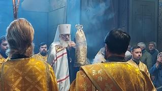 20.09.2020 | Литургия в Софийском соборе
