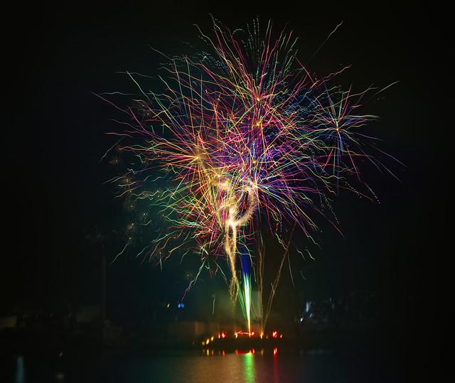 Fireworks in Llano , Tx 9