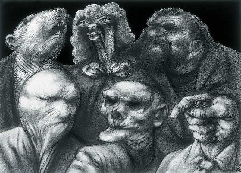 Adam Hoffmann - Portraits of Monsters, 1975