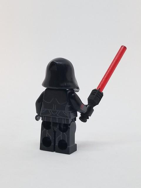 Star Wars Female Sith Inquisitor Back (Machine Printed)