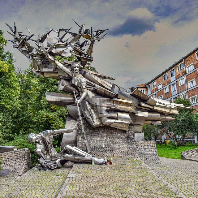 Monument to the Defenders of the Polish Post Office