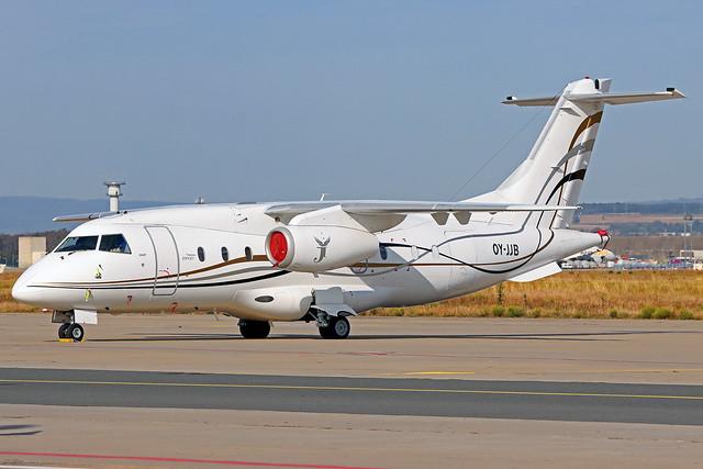 Join Jet (Sunair of Scandinavia) Dornier Do-328-300Jet OY-JJB FRA 20-09-20