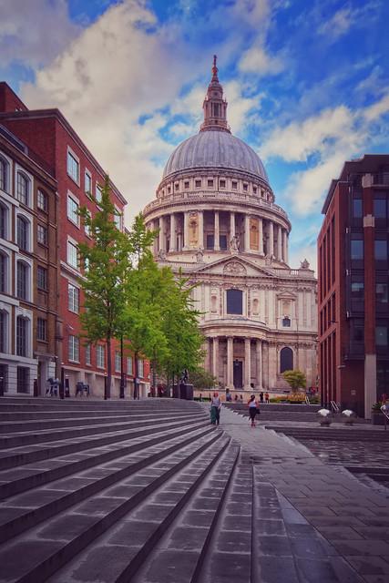 St Paul's Church View.