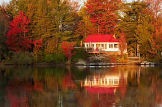 Red Roof & Fall Colours | by NicoleW0000