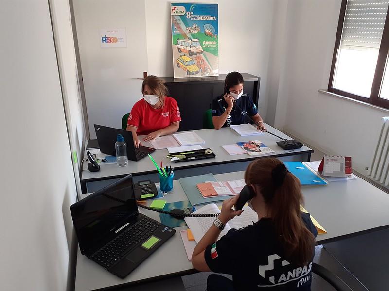 RIESCO Marche: per rispondere all'emergenza COVID19 un numero verde per rispondere alle esigenze dei cittadini