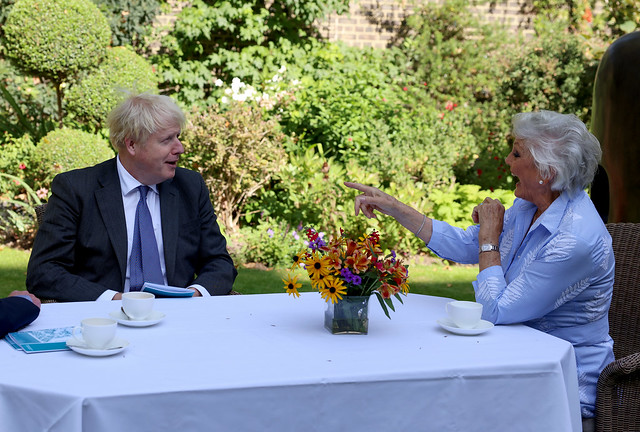 Boris Johnson World Alzheimer's Day