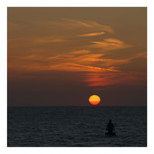 Sunset in Oostende