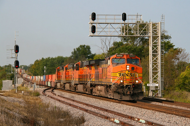 Stack Train at West Medill