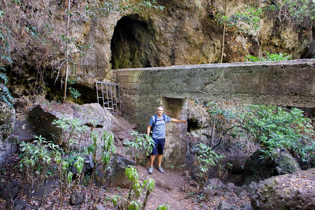 Salida del túnel de los cochinos en dirección a Cuevas Negras