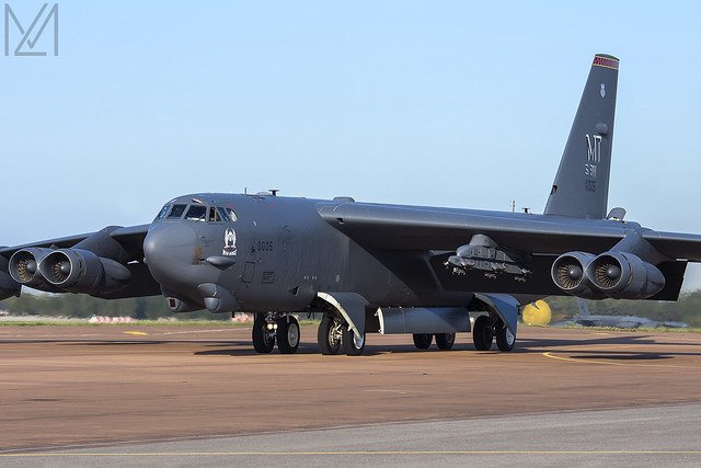 United States Air Force, Boeing B-52H, 60-0005 / MT.