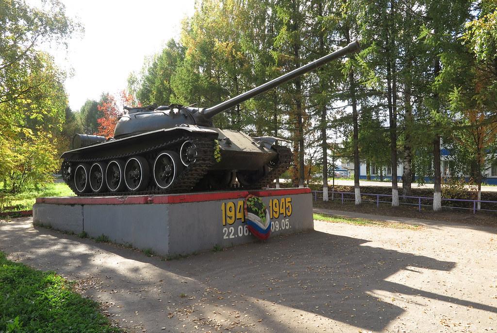Танк Т-54 в Даровском 5