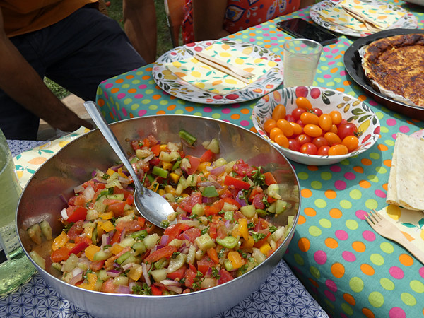 salade colorée