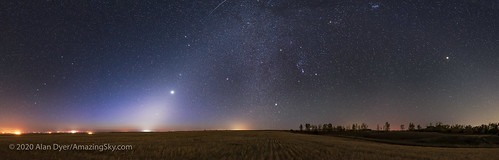Zodiacal Light with Venus and Mars | by Amazing Sky Photography