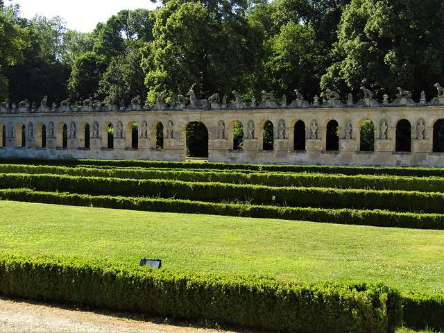 Château de Raray in departement Oise, close to Chantilly Castle