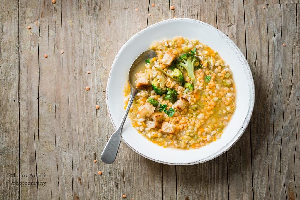 zuppa di orzo, lenticchie e broccoli - web-2759