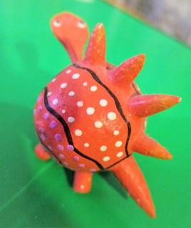 orange turtle...
