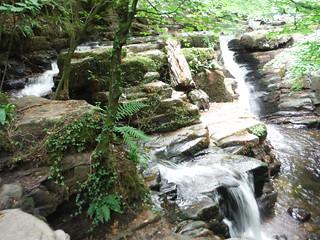 Lower Clydach Falls SWC Walk 371 The Clydach Gorge (Brynmawr to Abergavenny or vice versa)