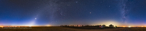 Dawn Sky Panorama with Venus and Mars | by Amazing Sky Photography