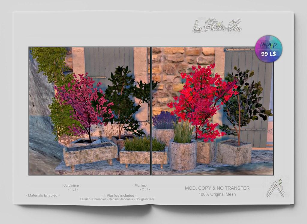 La Petite Vie - Jardinières - 4 Plantes