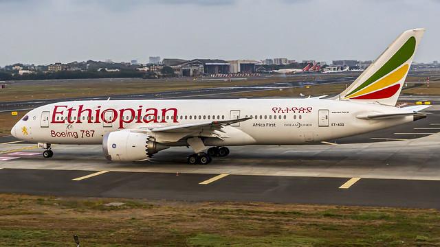 Ethiopian Boeing B787-8 Dreamliner ET-AOQ