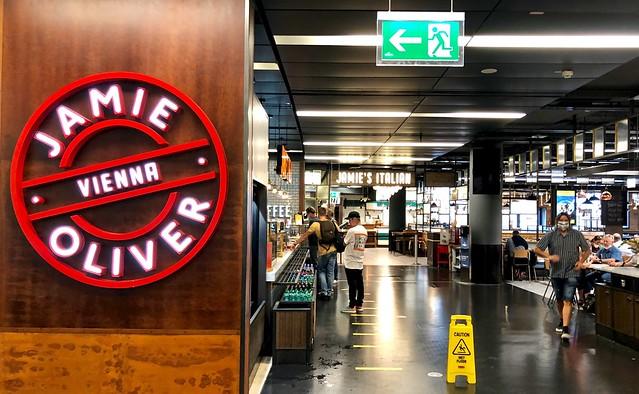 Jamie Oliver / Vienna Airport / Wenen