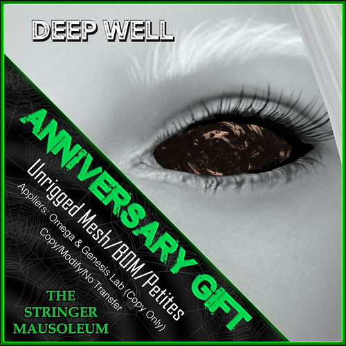 The Stringer Mausoleum - ER - Deep Well Eyes Anni Gift