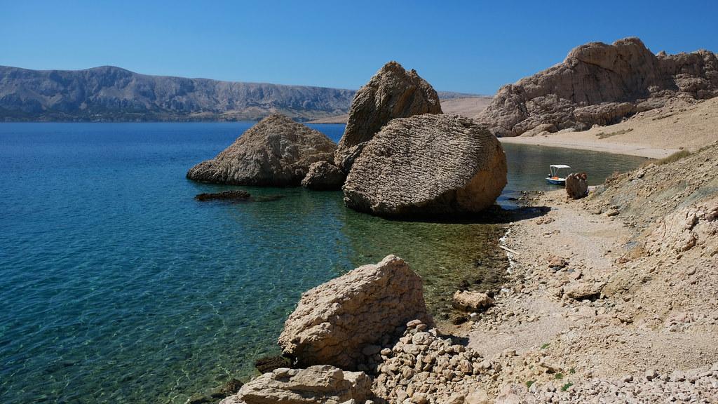 Croatian Beaches You've Never Heard Of: Beriknica Beach, Pag Island, Croatia