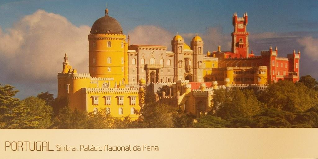 Countries - Portugal - Sintra - Palacio Nacional da Pena