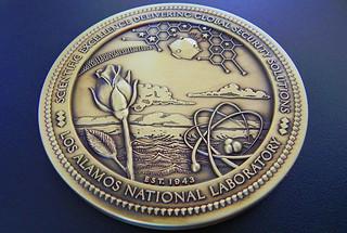 Phil Tubesing awarded LANL's 2020 Global Security Medal
