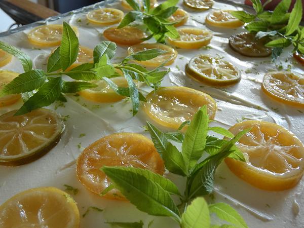 citron confit et verveine