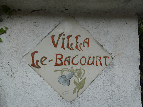 villa le Bacourt
