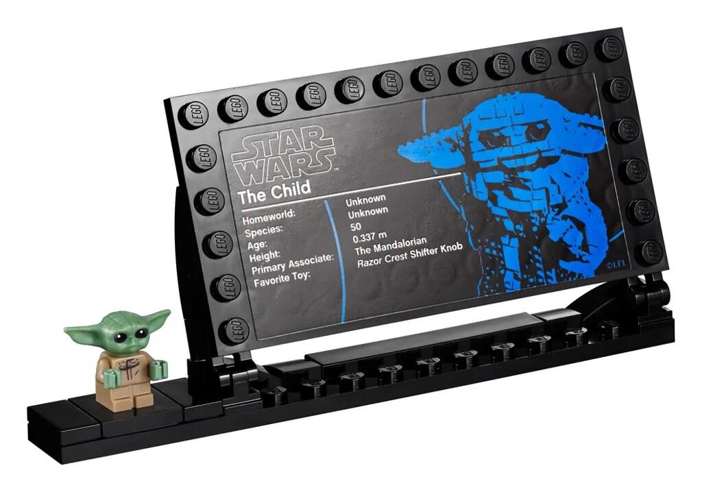 LEGO 75318《曼達洛人》孩子 高約19公分磚拼模型現身!