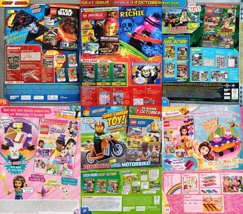 LEGO Magazines September Next
