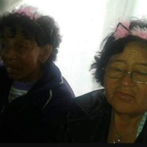 JULIA YANQUETRU Y SARITA MIGUEL