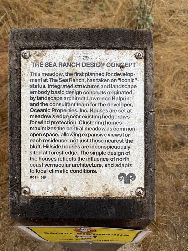 The Sea Ranch Design Concept