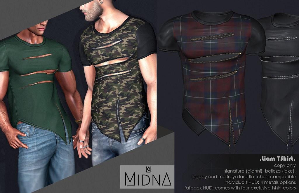 Midna – Liam TShirt