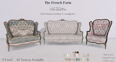 The French Farm-Clandestine Seating Ad