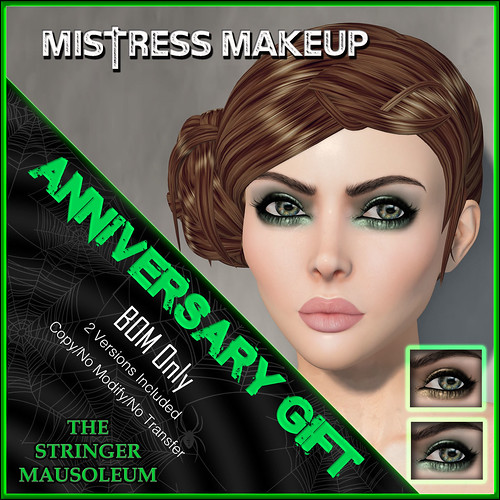 The Stringer Mausoleum - ER - Mistress Makeup Anni Gift