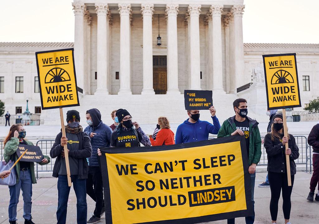Supreme Court Nomination Protest