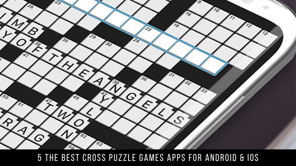 5 The Best Cross Puzzle Games Apps For Android & iOS