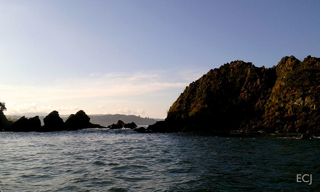 Los islotes, cerca de la boca del humedal nacional Térraba-Sierpe / The islets at the mouth of the Térraba-Sierpe national wetland