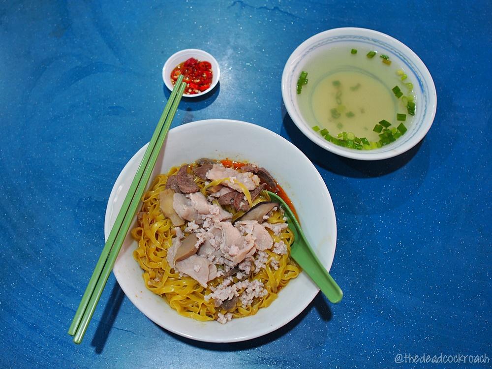58 minced meat noodle, bak chor mee, food, food review, minced meat noodle, review, singapore, taman jurong market & food centre, 肉脞面, 裕廊五十八肉脞面, 58 bcm,bcm,