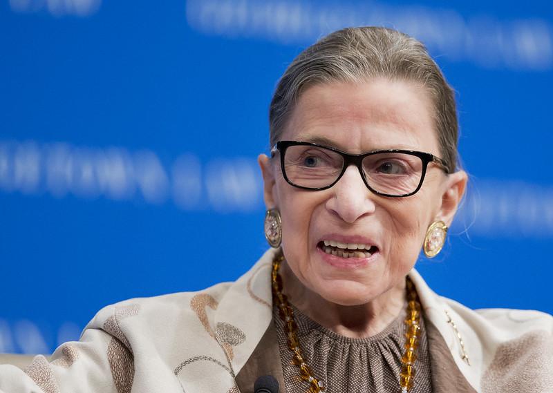 Ruth Bader Ginsburg。(達志影像資料照)