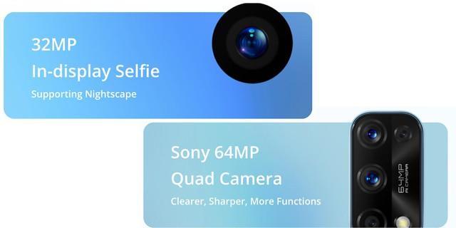 realme 7 PRO camera specs