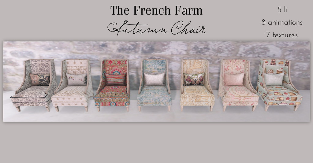 The French Farm-Autumn Chairs ad