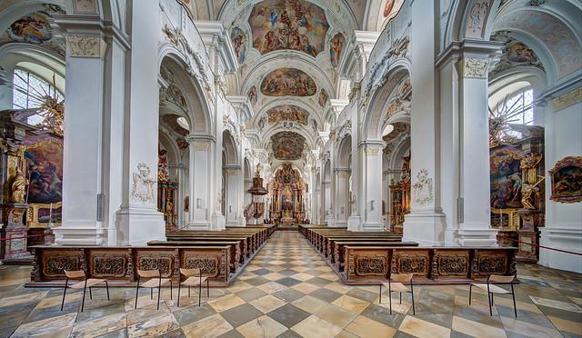 Niederalteich, Klosterkirche und Pfarrkiche St. Mauritius