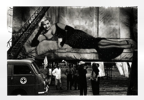 Federico Fellini on the set of Boccaccio Boccaccio '70 (1962)