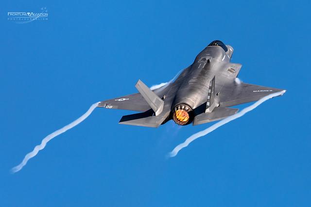 F-35B Lightning II, CF-08, 169610, VMFA-211, USMC, Marine Aircraft Group 13, 3rd Marine Aircraft Wing, Yuma AFB