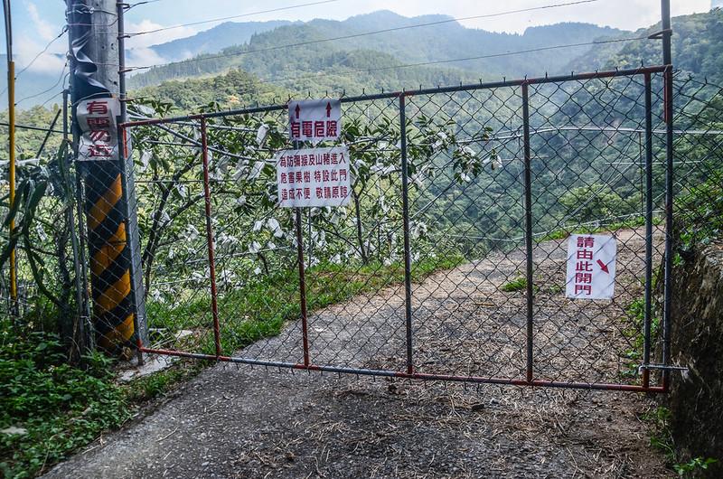 大安山果園農路柵門